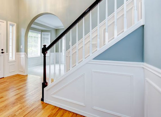 Wainscoting & Chair Rail