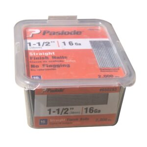 1-1/2 IN. X 16 GAUGE STRAIGHT PASLODE NAIL