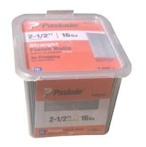 2-1/2 IN. X 16 GAUGE STRAIGHT PASLODE NAIL