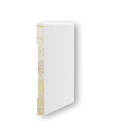 Round Edge Primed Baseboard